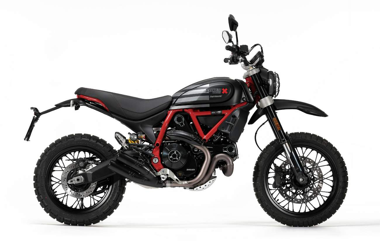 Ducati Scrambler 800 Desert Sled Fasthouse Limited Edition technical specifications